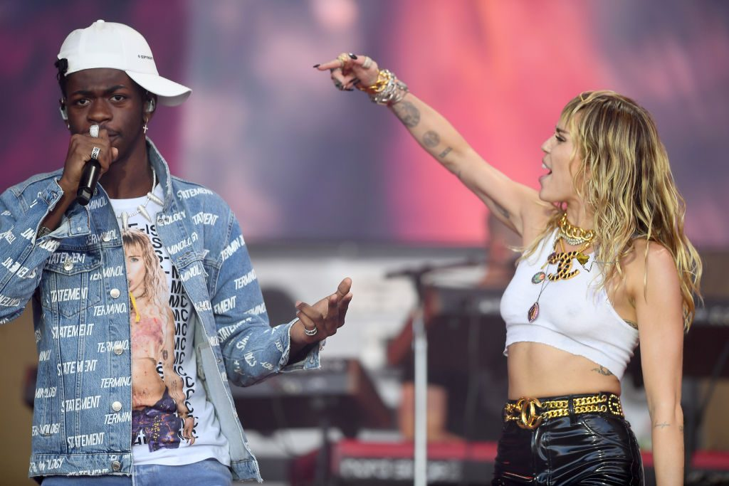 Lil Nas X and Miley Cyrus