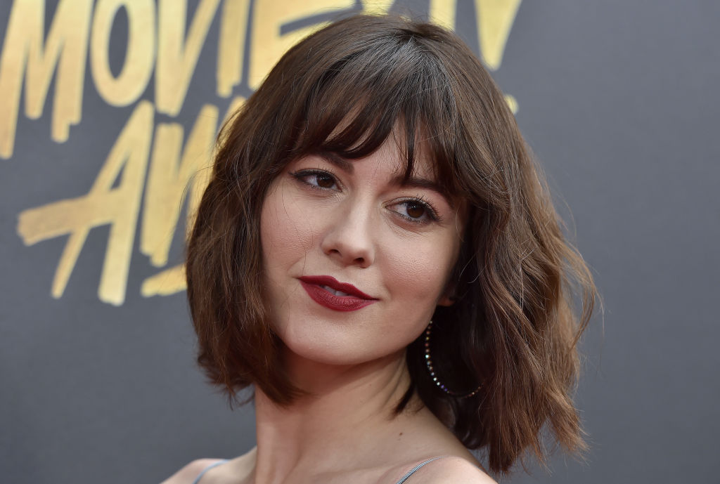 Mary Elizabeth Winstead at the 2017 MTV Movie and TV Awards.