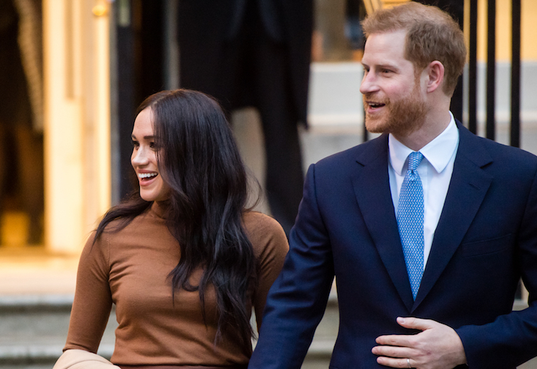 Prince Harry and Meghan Markle in London