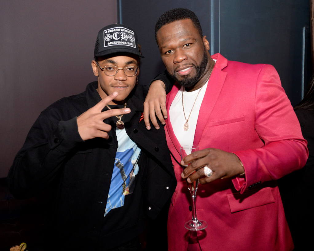 Michael Rainey, Jr. and Curtis '50 Cent' Jackson