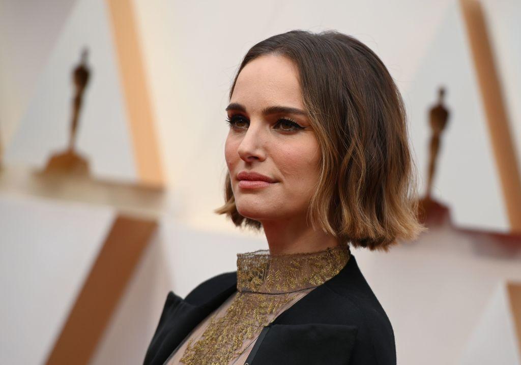 Natalie Portman at the 92nd Oscars on February 9, 2020.
