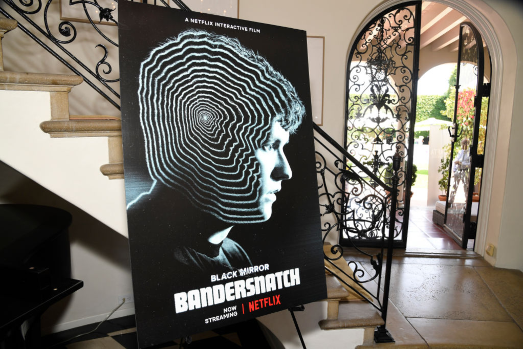Netflix 'Black Mirror: Bandersnatch' display