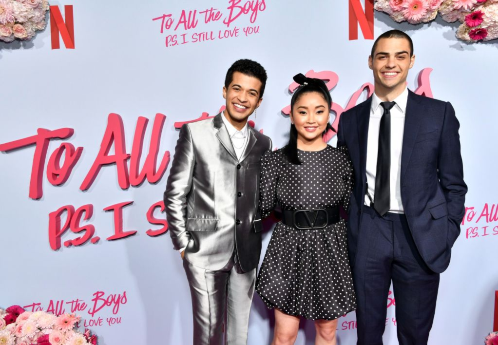 Jordan Fisher, Lana Condor, Noah Centineo of 'To All the Boys: P.S. I Love You'