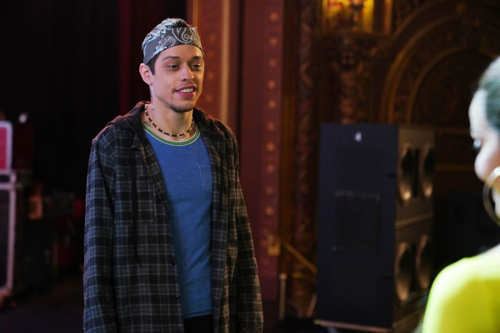 """Saturday Night Live Pete Davidson as Chad during the """"Chad"""" sketch"""