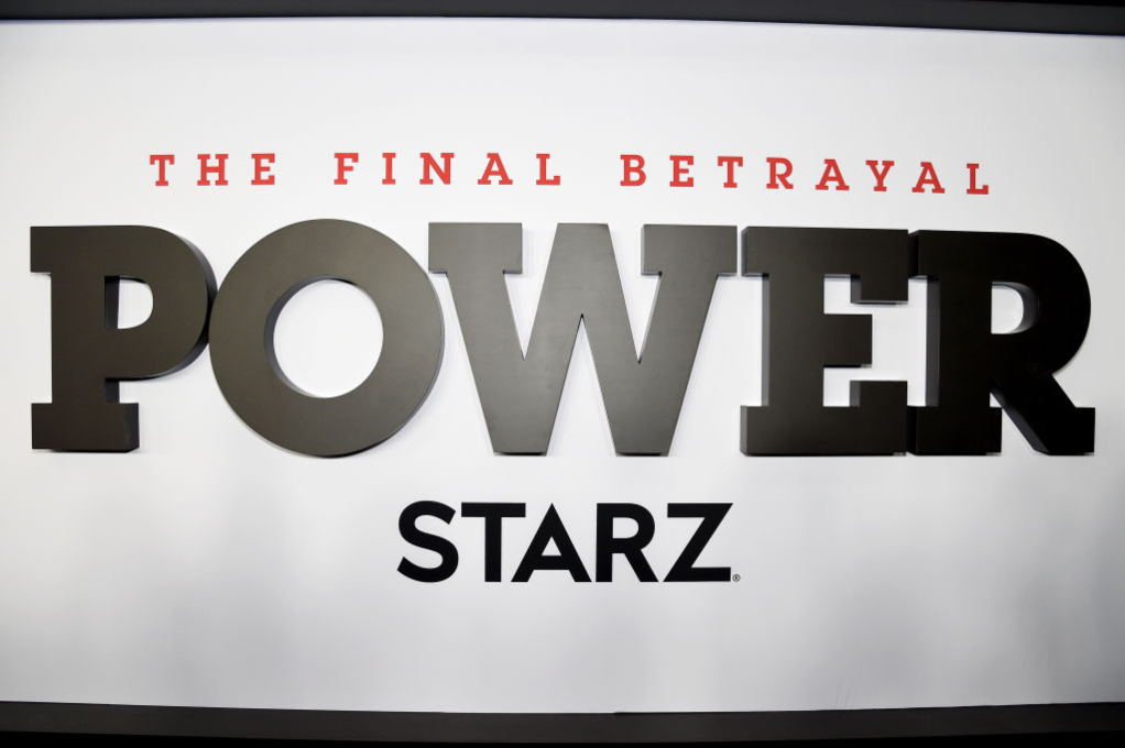 'Power' season 6 signage