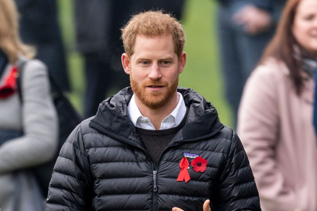 Prince Harry attends a Terrence Higgins Trust event ahead of National HIV Testing Week at Twickenham Stoop