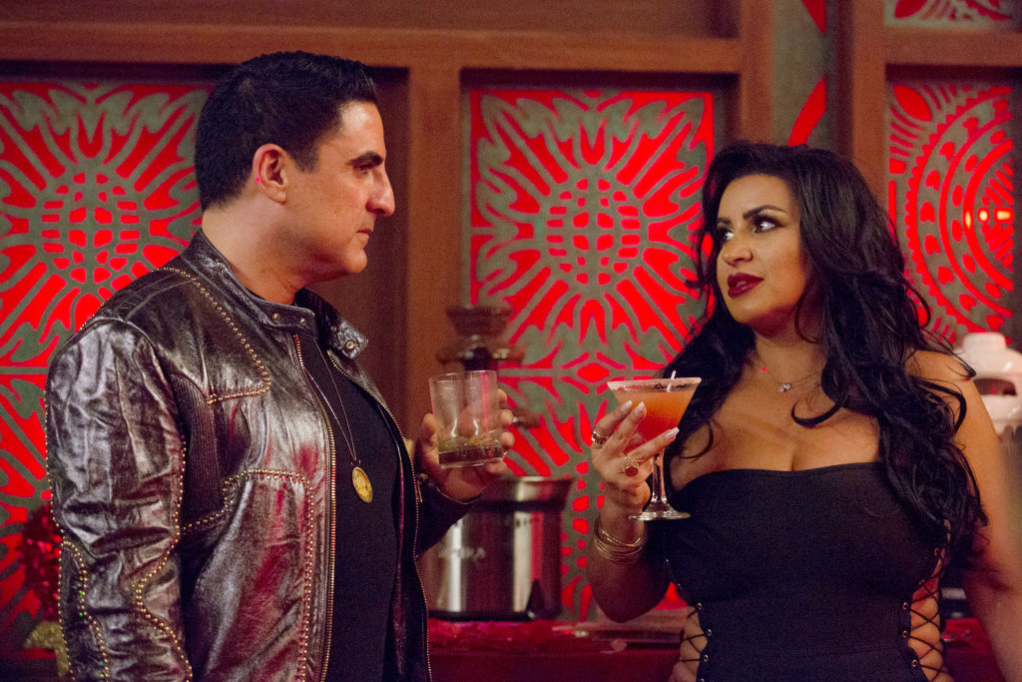 Reza Farahan and Mercedes 'MJ' Javid in 'Shahs of Sunset'