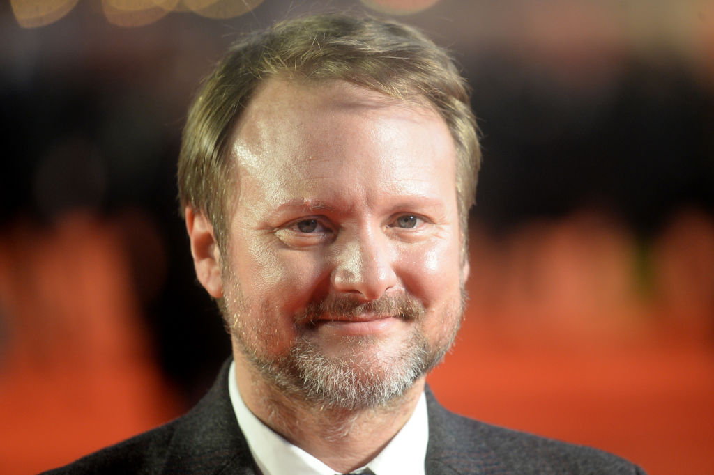 Rian Johnson attends the 'Knives Out' European Premiere on October 08, 2019 in London, England.