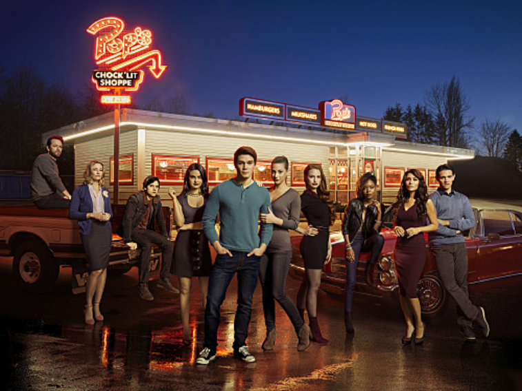 Cast of 'Riverdale' on The CW