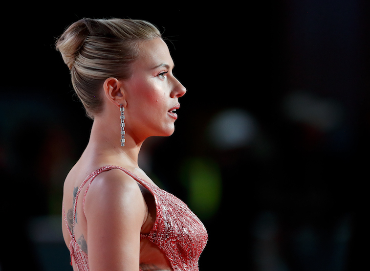 Scarlett Johansson at an award show