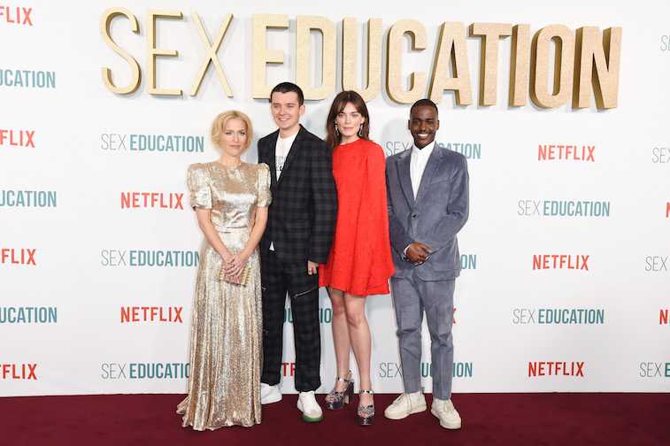The cast of 'Sex Education'