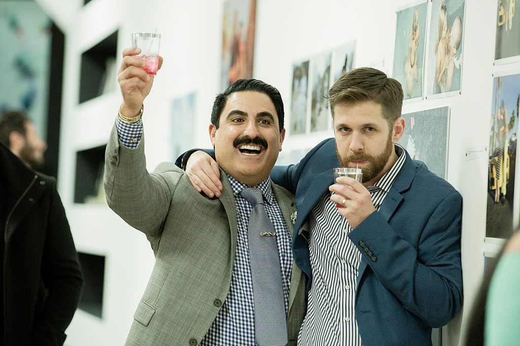 Reza Farahan and Adam Neely of Shahs of Sunset