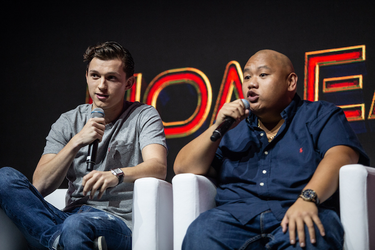 Tom Holland and Jacob Batalon