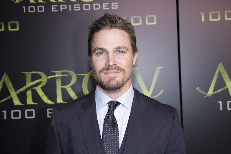 Stephen Amell on the red carpet