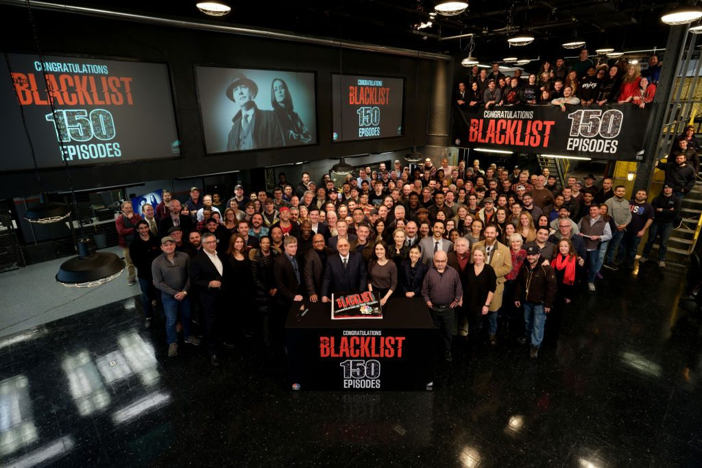 The Blacklist cast and crew