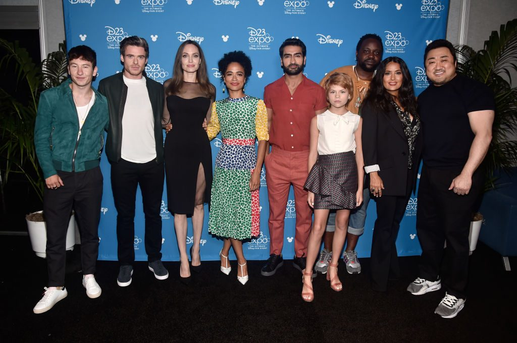 'The Eternals' cast at D23 EXPO 2019