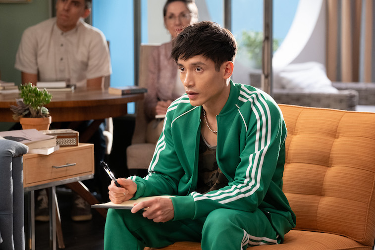 Manny Jacinto as Jason from 'The Good Place'