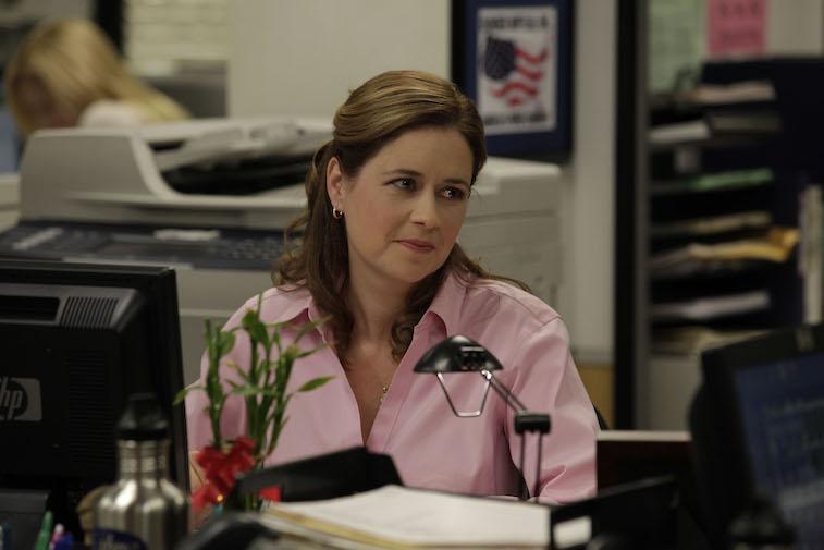 Jenna Fischer as Pam Halpert