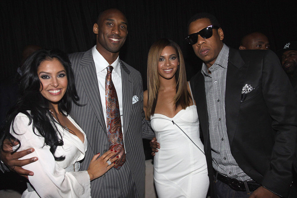 Vanessa and Kobe Bryant; Beyoncé and Jay-Z