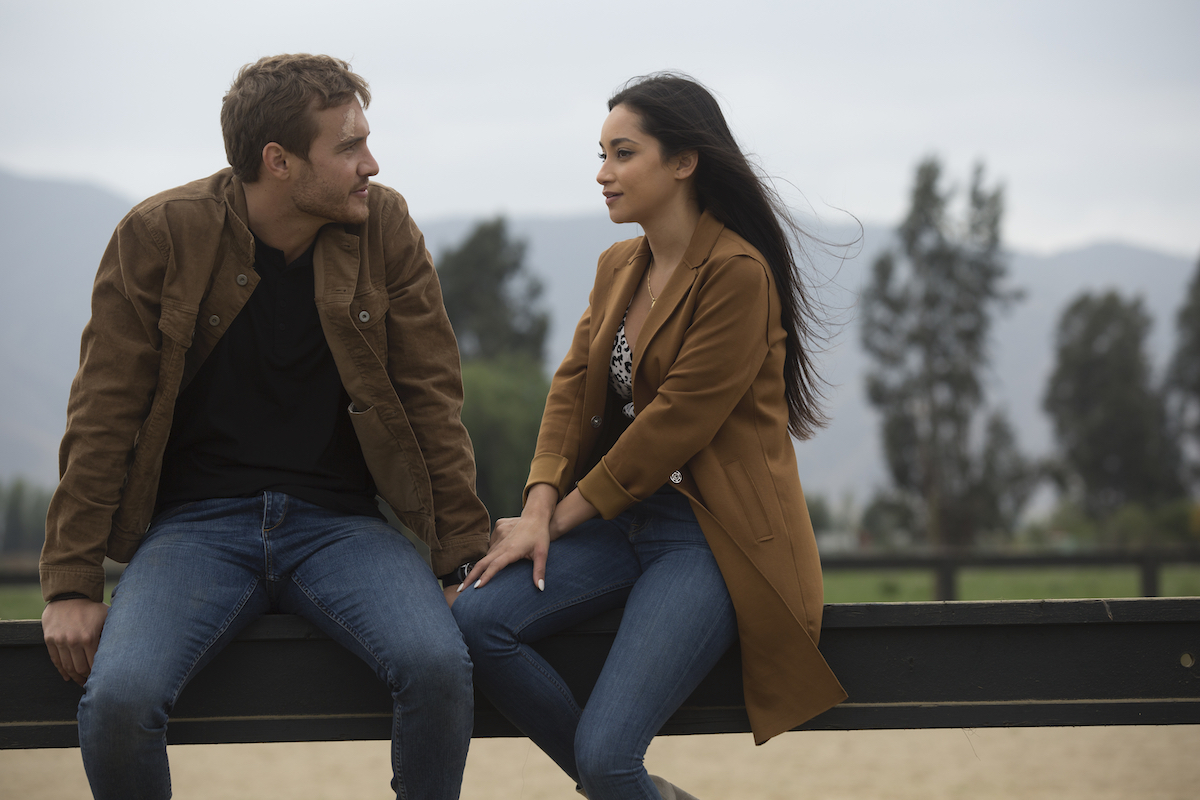 Victoria F. and Peter Weber on a one-on-one date in Episode 6 of 'The Bachelor.'