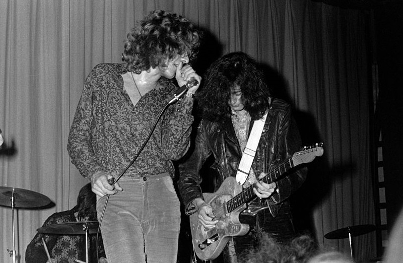 The First Led Zeppelin Song Credited to Jimmy Page and Robert Plant