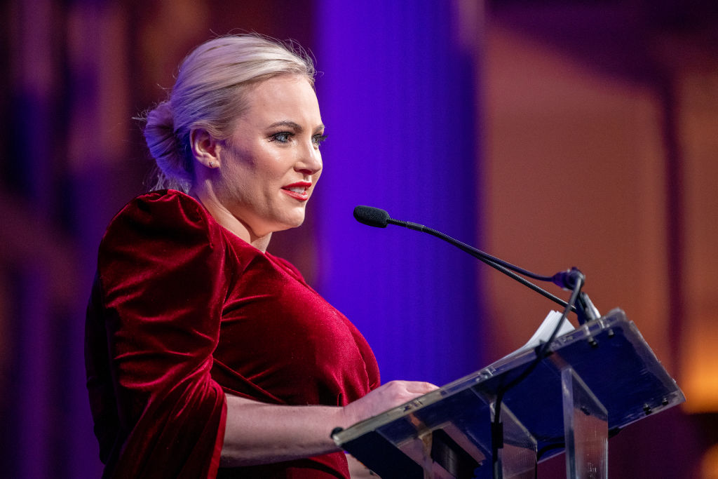 Meghan McCain on stage during the 29th Annual Achilles Gala