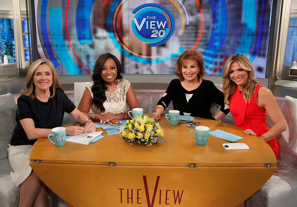 """""""The View's"""" Meredith Vieira, Star Jones and Debbie Matenopoulos joined Joy Behar"""