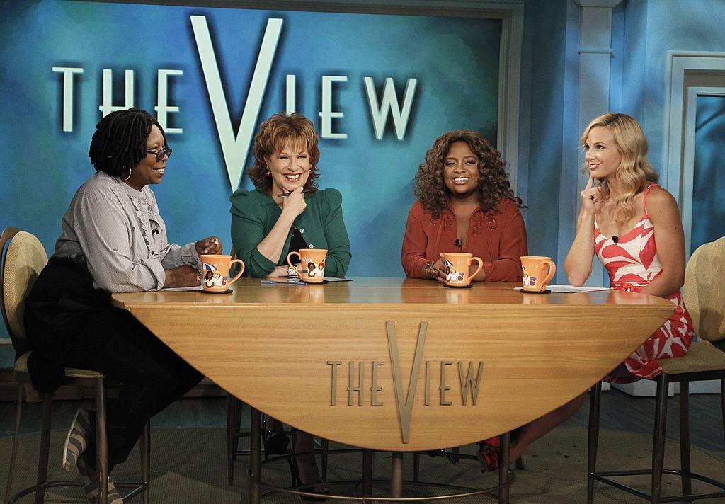 """The View's"" Whoopi Goldberg, Joy Behar, Sherri Shepherd and Elisabeth Hasselbeck"