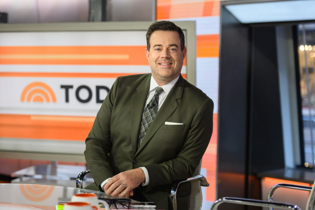 "Carson Daly on the ""Today Show"""