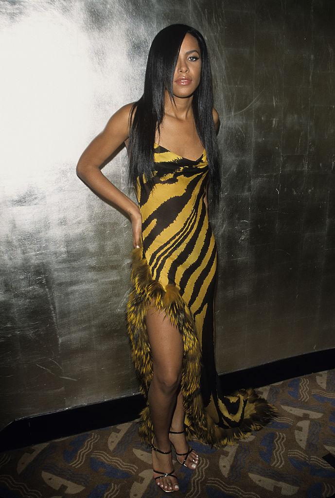 Aaliyah at the MTV Video Music Awards on September 7, 2000