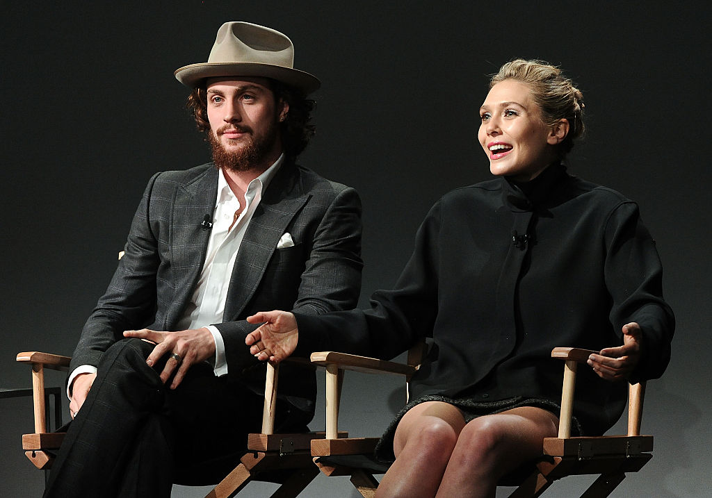 Aaron Taylor-Johnson and Elizabeth Olsen Quicksilver and Scarlet Witch MCU