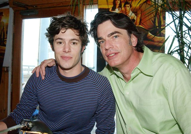 Adam Brody and Peter Gallagher on Oct. 29, 2004