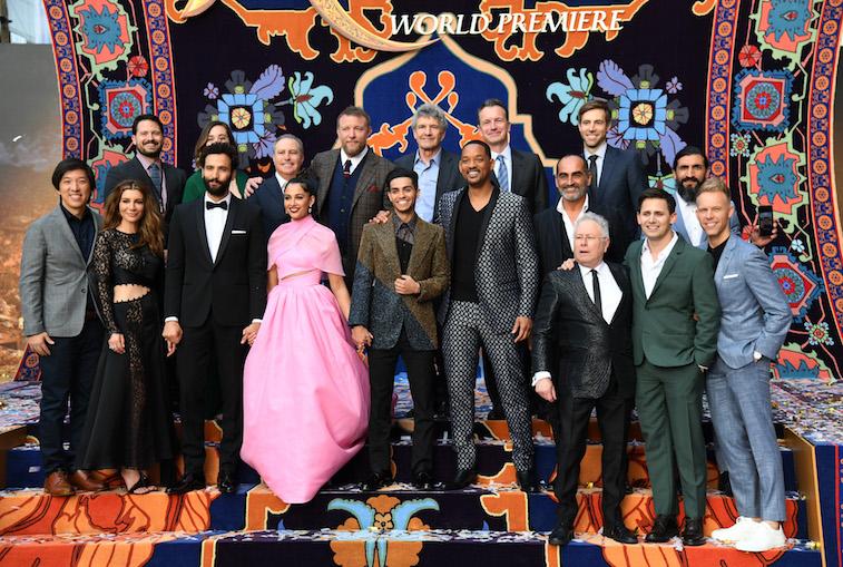 Cast and crew of Disney's 'Aladdin'