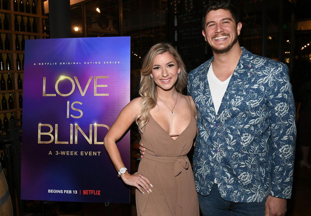 Amber Pike and Matt Barnett   Paras Griffin/Getty Images