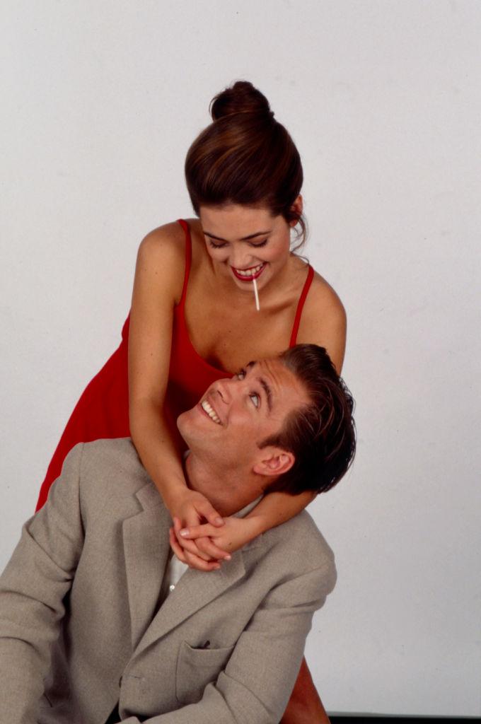 Amelia Heinle, Michael Weatherly Promotional Photo For 'Loving'