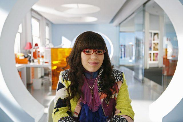 America Ferrera as Betty in 'Ugly Betty'