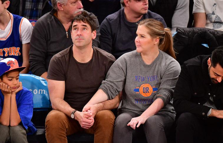 Chris Fischer and Amy Schumer