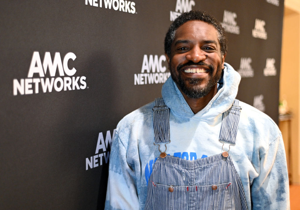 André 3000 at an event