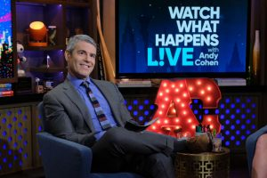 Andy Cohen Rocks The Typical 'Work from Home' Outfit