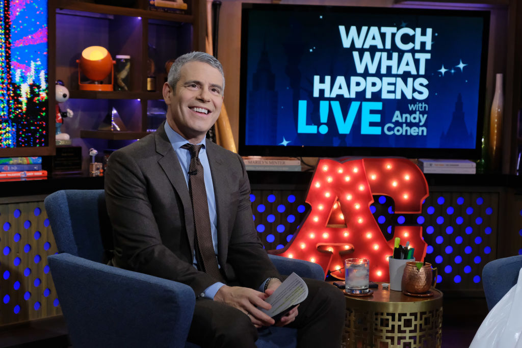 Andy Cohen to Return to WATCH WHAT HAPPENS LIVE Tonight
