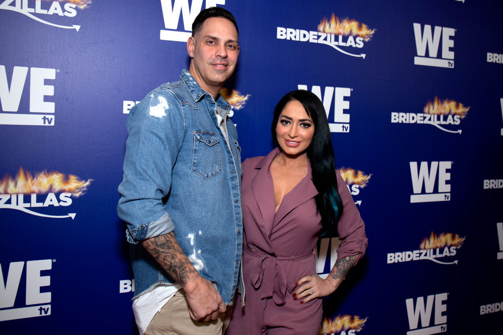 Angelina Pivarnick and Chris Larangeira