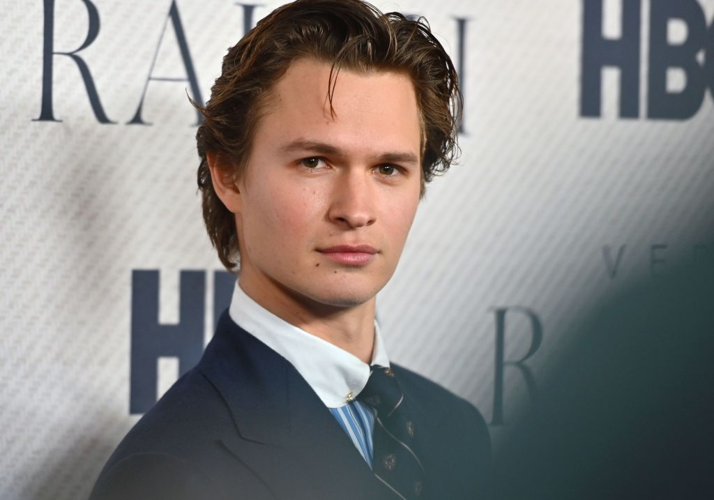 "US actor Ansel Elgort attends the world premiere of HBO Documentary Films ""Very Ralph"""