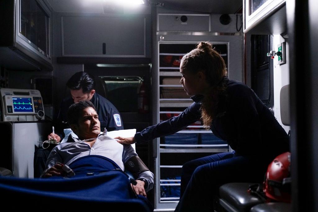 Nicholas Gonzalez and Antonia Thomas   Darko Sikman/ABC via Getty Images