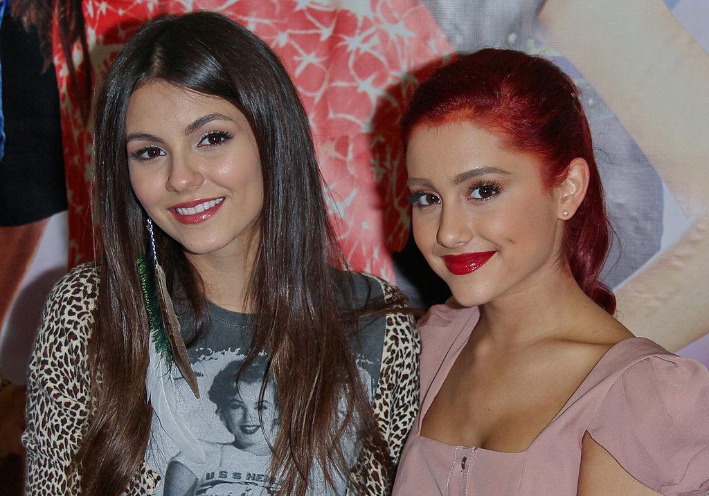 Victoria Justice, Ariana Grande