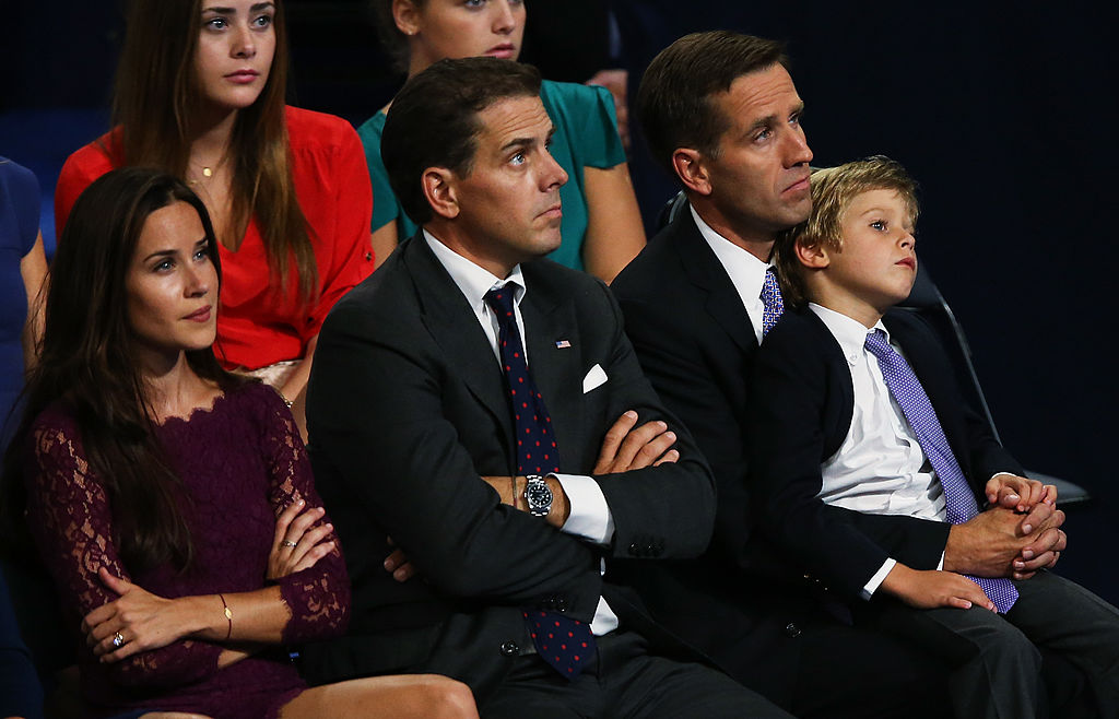 Ashley Biden, Hunter Biden, Beau Biden