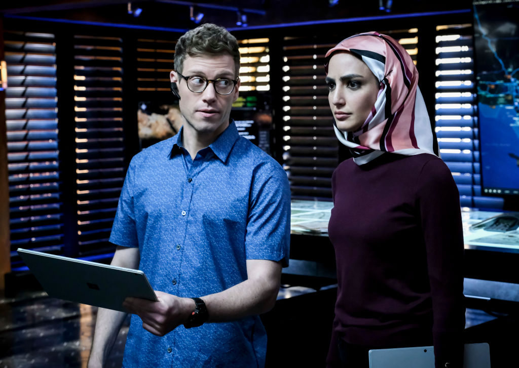 Barrett Foa and Medalion Rahimi | Trae Patton/CBS via Getty Images