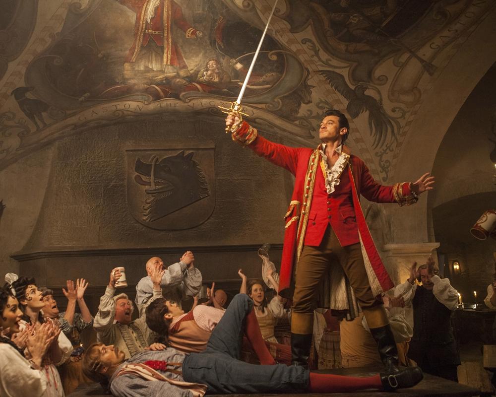 Luke Evans as Gaston