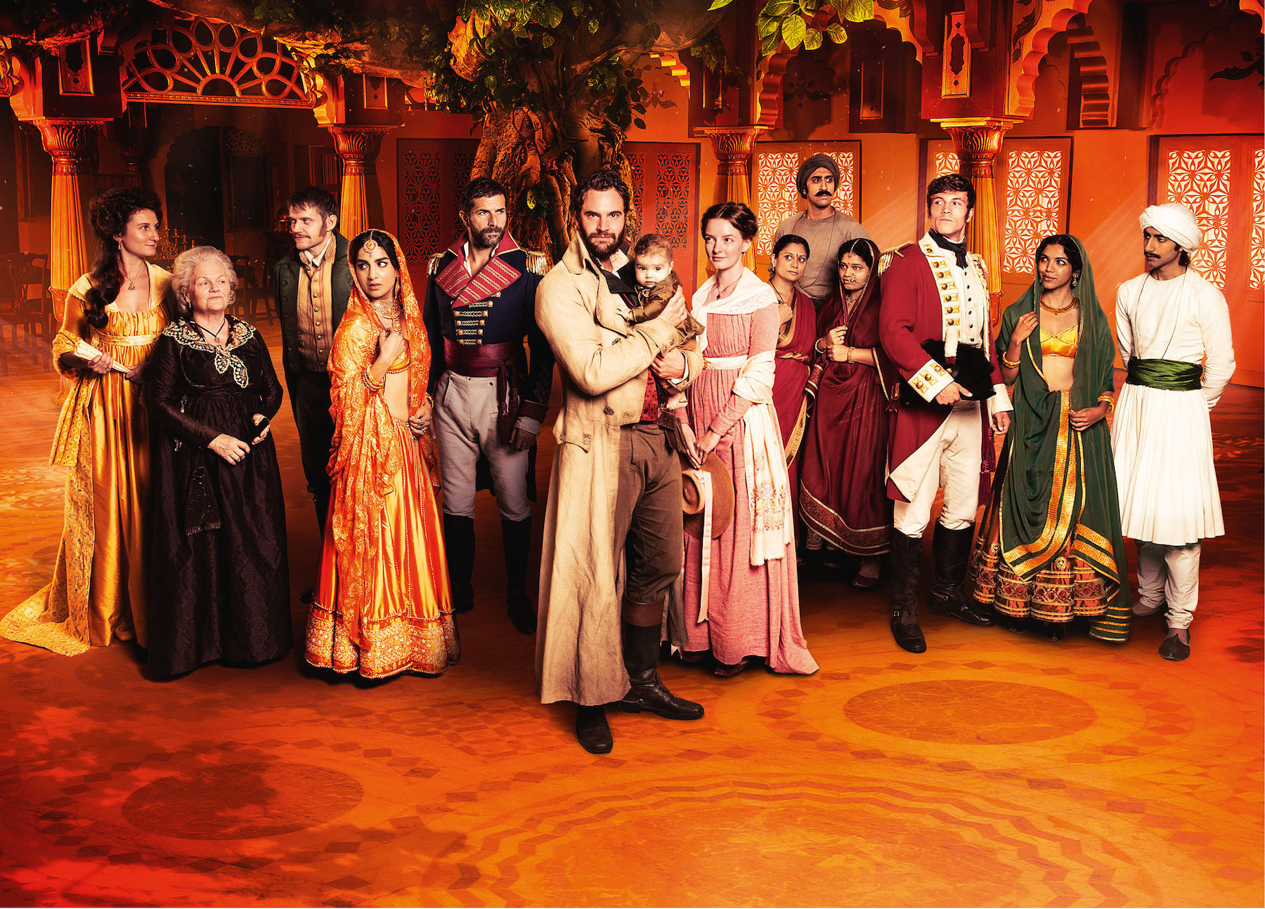 Group photo of Beecham House cast