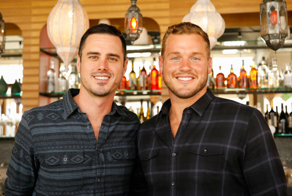 Ben Higgins and Colton of The Bachelor