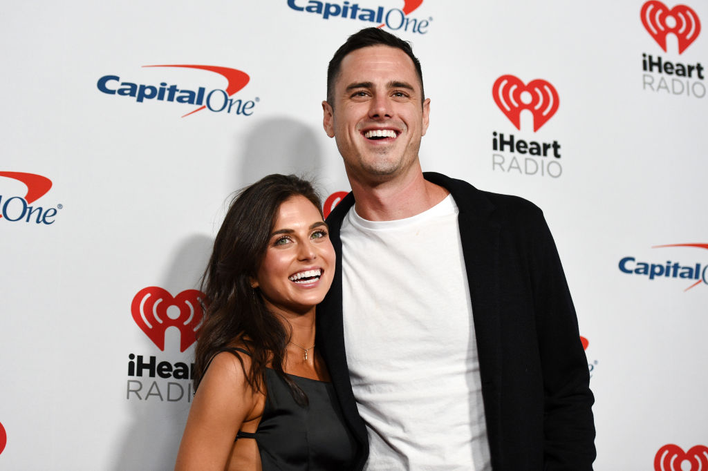 Jessica Clarke and Ben Higgins attend the 2019 iHeartRadio Music Festival at T-Mobile Arena on September 20, 2019 in Las Vegas